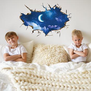 Obrázek Samolepky na zeď - noční obloha