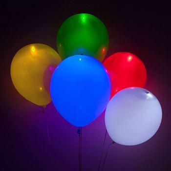 Obrázek LED svítící balónky