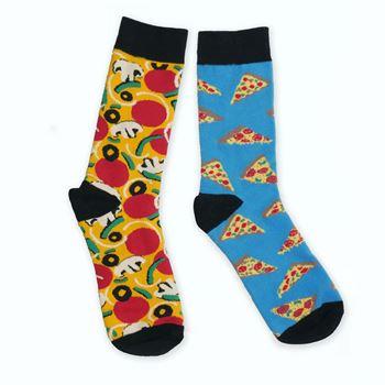 Obrázek Veselé ponožky - pizza