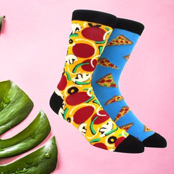 Obrázek z Veselé ponožky - pizza