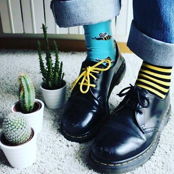 Obrázek z Veselé ponožky - včela