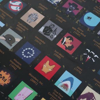 Obrázek z Seškrabávací plakát - 100 filmů, které musíte vidět