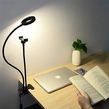 Obrázek z Selfie držák na telefon s LED přisvícením