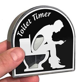 Obrázek Přesýpací hodiny - záchod