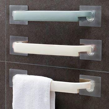 Obrázek z Nalepovací držák na ručníky - modrý