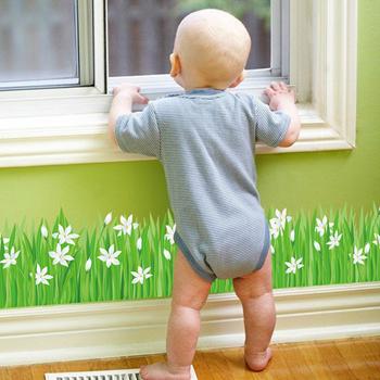 Obrázek Nálepky na okno - kytičky