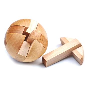 Obrázek Dřevěný hlavolam