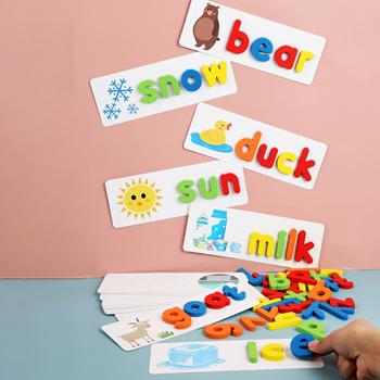 Obrázek Dřevěná abeceda s obrázky