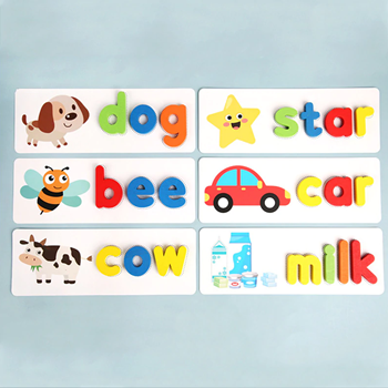 Obrázek z Dřevěná abeceda s obrázky