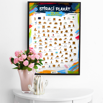 Obrázek Stírací plakát - 100 věcí co musíte zažít