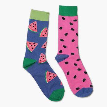 Obrázek Veselé ponožky - meloun
