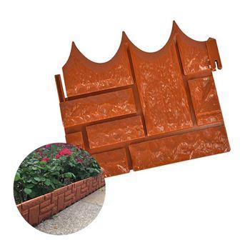 Obrázek Zahradní palisáda - hnědá