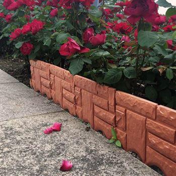 Obrázek z Zahradní palisáda - hnědá