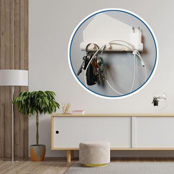 Obrázek Nalepovací držák s háčky - velký