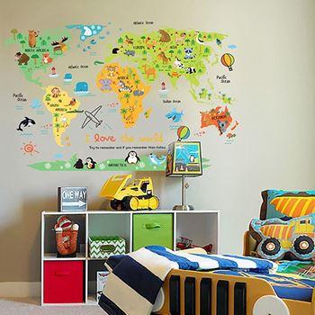 Obrázek z Dětská mapa světa