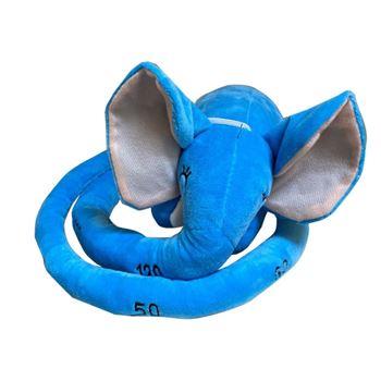 Obrázek Plyšový metr - slůně - modrý