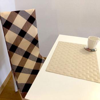 Obrázek Elastický potah na židli - hnědý