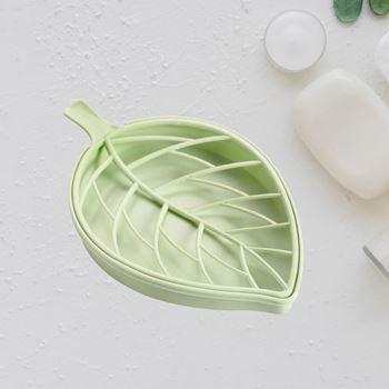 Obrázek Odkapávač ve tvaru listu - světle zelený