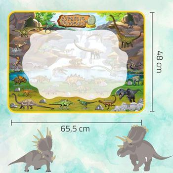 Obrázek z Vodní malování - dinosauři