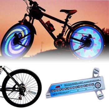 Obrázek z LED světlo do výpletu kola