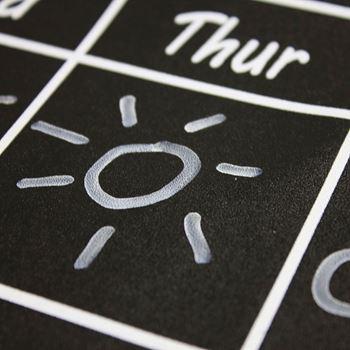 Obrázek z Samolepicí kalendář