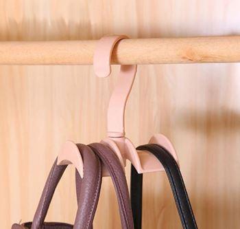 Obrázek Praktický věšák do skříně - růžový