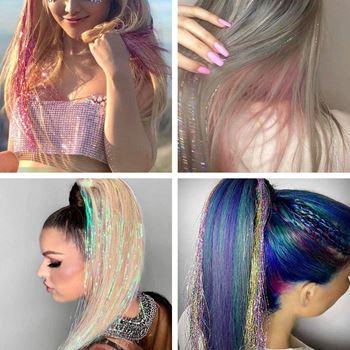 Obrázek z Pozlátko do vlasů - růžové