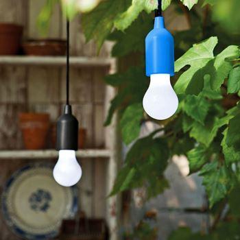 Obrázek Lampa Pull - černá