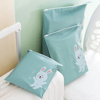 Obrázek Sada nepromokavých cestovních tašek - zelená
