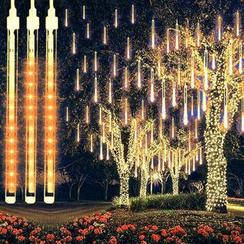 Obrázek Vánoční osvětlení - padající sníh