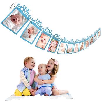 Obrázek Fotorámečky - První rok dítěte - modré