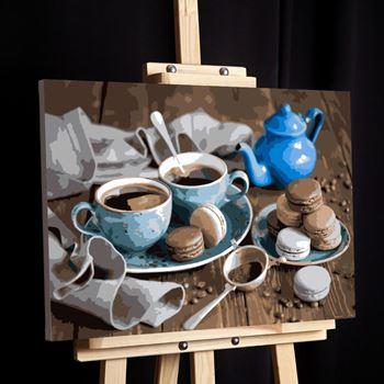 Obrázek Malování podle čísel - káva