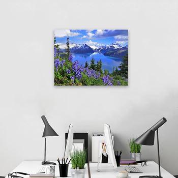Obrázek z Diamantové malování - jezero Garibaldi