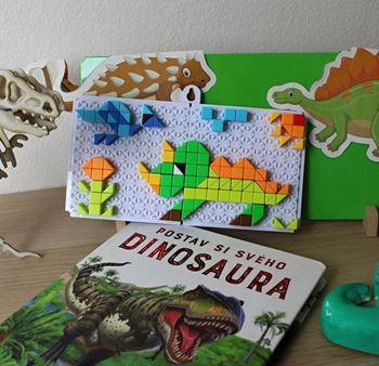 Obrázek Mozaiková stavebnice - dinosauři