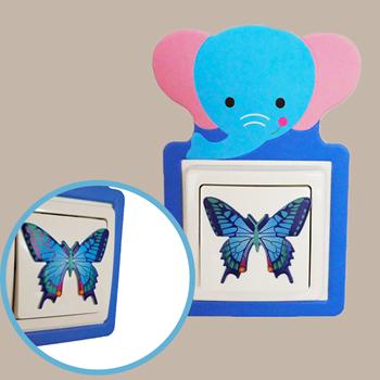 Obrázek Nalepovací dekorace na vypínač - slon
