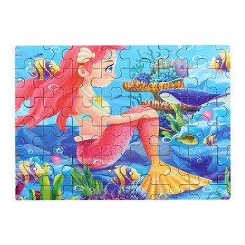 Obrázek Dětské puzzle - mořská panna