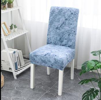 Obrázek  Elastický potah na židli - modrý