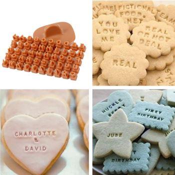 Obrázek Razítka na sušenky - písmena