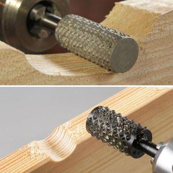Obrázek z Rotační pilníky na broušení dřeva