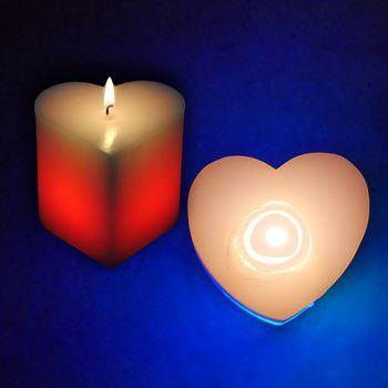 Obrázek Kouzelná svíčka - srdce
