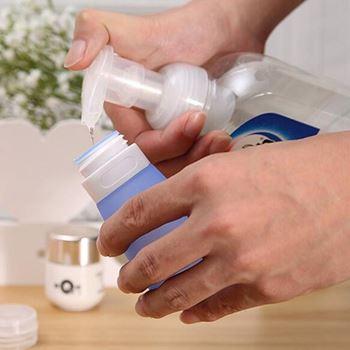 Obrázek z Cestovní silikonová tuba - modrá