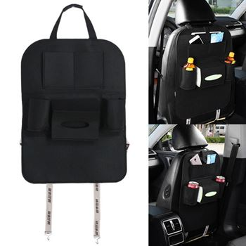 Obrázek Pořadač na sedačku do auta - černý