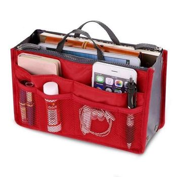 Obrázek Organizér do kabelky - červený