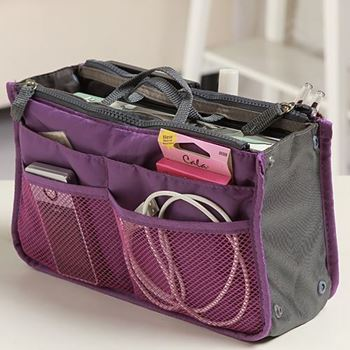 Obrázek Organizér do kabelky - fialový