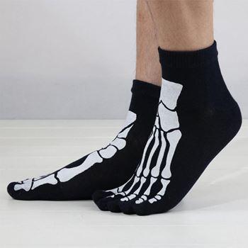 Obrázek z Prstové ponožky - kostlivec