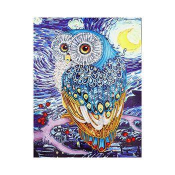 Obrázek z Diamantové malování speciální - sova