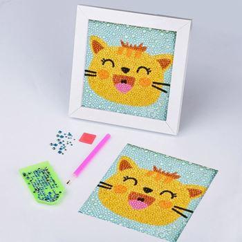 Obrázek Diamantové malování pro děti - kočička