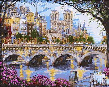Obrázek Malování podle čísel - most
