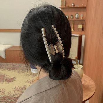 Obrázek z Perlový skřipec do vlasů