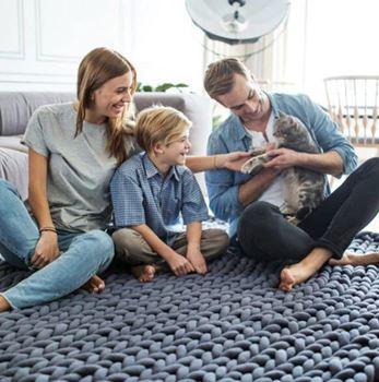 Obrázek Příze pro ruční pletení - šedá